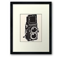 Camera: Rolleiflex Framed Print