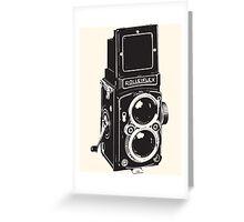 Camera: Rolleiflex Greeting Card