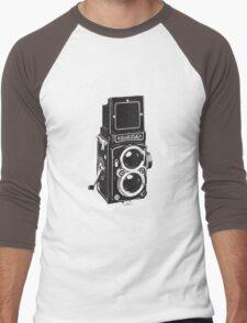 Camera: Rolleiflex Men's Baseball ¾ T-Shirt