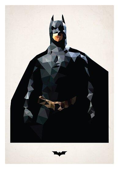 Polygon Batman by Matthew Bonnington
