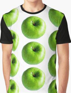 Green Apple Graphic T-Shirt