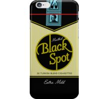 Black Spot Turkish Cigarettes iPhone Case/Skin