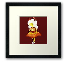 Adventure Time Breakfast Princess Framed Print