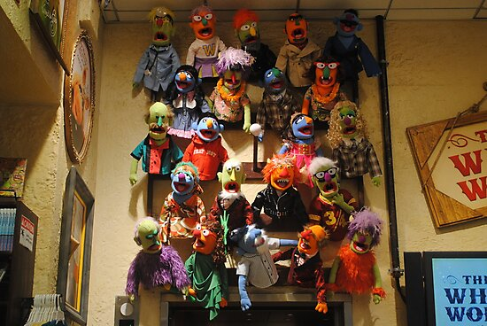 Muppet Mania by Sandra Fortier