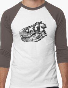 Dinosaur: T-Rex - Black Ink Men's Baseball ¾ T-Shirt
