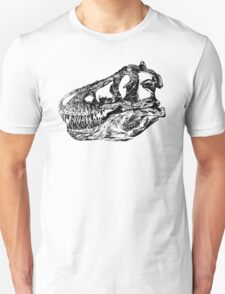 Dinosaur: T-Rex - Black Ink T-Shirt