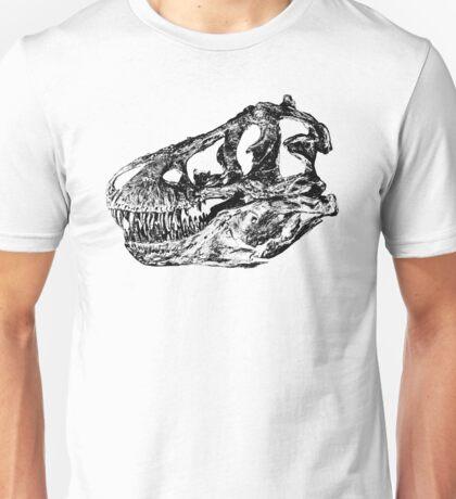 Dinosaur: T-Rex - Black Ink Unisex T-Shirt