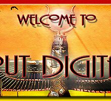 far out digital art welcome banner by Richard  Gerhard