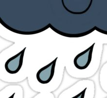 Happy Rain Cloud 4 Sticker