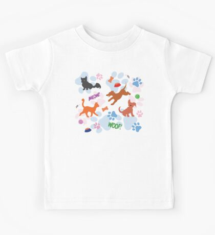 Puppies and Kittens Kids Tee