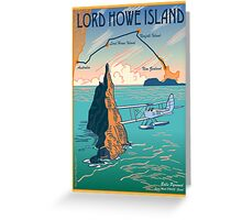 Lord Howe Island Francis Chichester's Gipsy Moth Greeting Card
