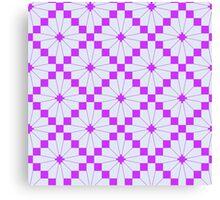 Knittimg pattern Canvas Print