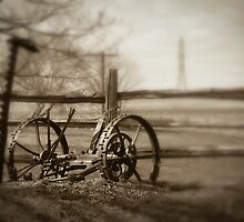 Antique Lawn Mower by MissDawnM