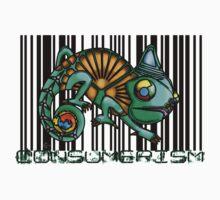 Consumerism Chameleon by Sam Mitchell