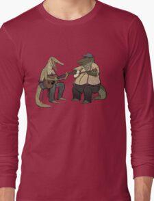 Dueling Crocodylidae Long Sleeve T-Shirt