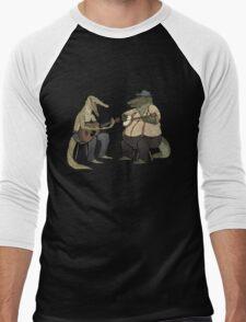 Dueling Crocodylidae Men's Baseball ¾ T-Shirt