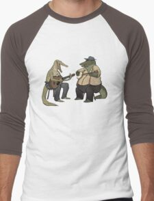Dueling Crocodylidae Men's Baseball ¾ T-Shirt