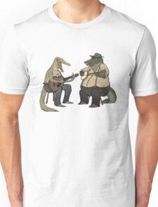 Dueling Crocodylidae Unisex T-Shirt