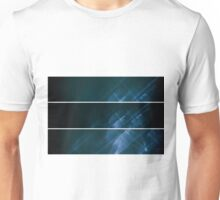 Lightpainting Triptych Horizontal Print Photograph 6 Unisex T-Shirt