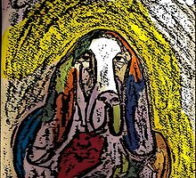 Basset Abound with Color by doryd