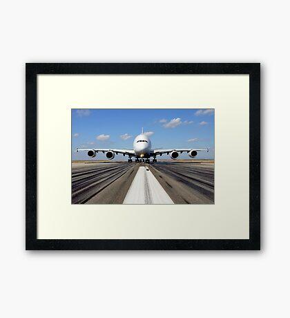 A380 Framed Print