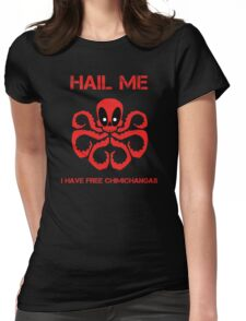 Hail the Merc! Womens Fitted T-Shirt