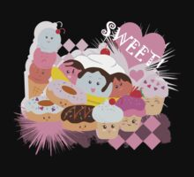 Sweet Treats! One Piece - Short Sleeve