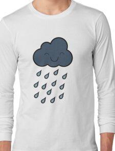 Happy Rain Cloud Long Sleeve T-Shirt