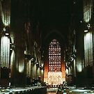 St Andrew's cathedral Sydney 1983 07230005  by Fred Mitchell