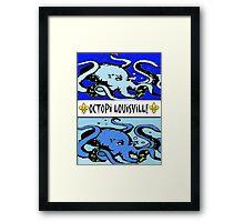 Octopi Louiville Framed Print