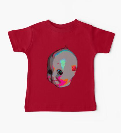 Tripped Out Doll Head Baby Tee