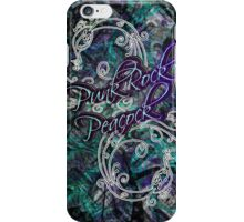 Punk Rock Peacock iPhone Case/Skin