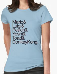 Mario + Co. List Shirt (Black Text) T-Shirt