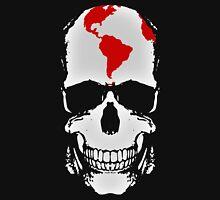 Globe Skull Unisex T-Shirt