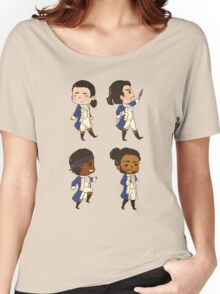 Tiny Revolutionaries Women's Relaxed Fit T-Shirt