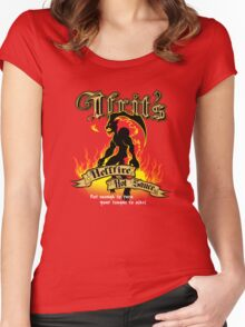 Ifrit's Hellfire Hot Sauce Women's Fitted Scoop T-Shirt