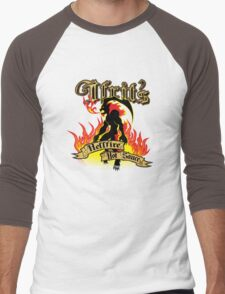 Ifrit's Hellfire Hot Sauce Men's Baseball ¾ T-Shirt