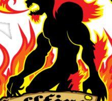 Ifrit's Hellfire Hot Sauce Sticker