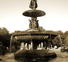 Bethesda Fountain by Bernadette Claffey