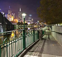Yarra Evening by Vicki Moritz