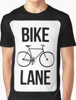 Bike Lane Graphic T-Shirt
