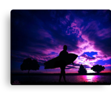 Return from the Sea Canvas Print