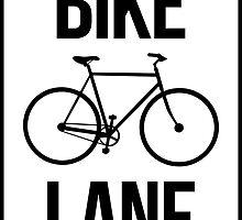 Bike Lane by LudlumDesign