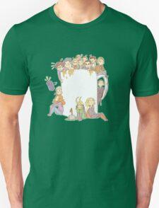 All The Fandoms, All The Tea Unisex T-Shirt
