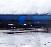 luminous iceberg, Antarctica by geophotographic