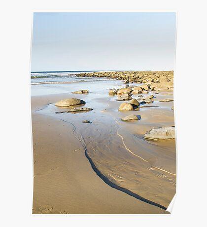 tidal coastline Poster