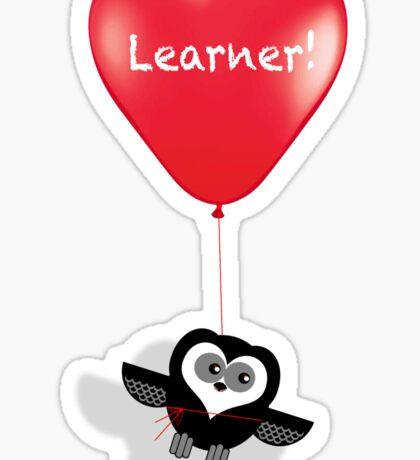 LEARNER! Sticker