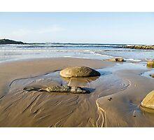 sea, rocks and sand  Photographic Print
