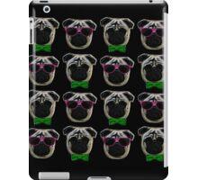 """Cool Pugs"" pink/green iPad Case/Skin"