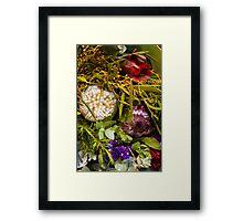 Australian bouquet Framed Print